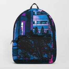 Cyberpunk City Backpack