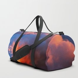 Contrasting Clouds Duffle Bag