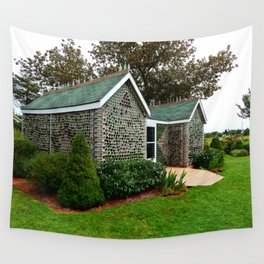 Bottle House Wall Tapestry