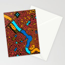 Infinite City - Autumn Stationery Cards