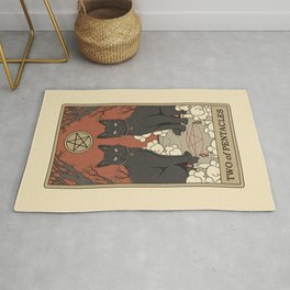 Two of Pentacles Rug