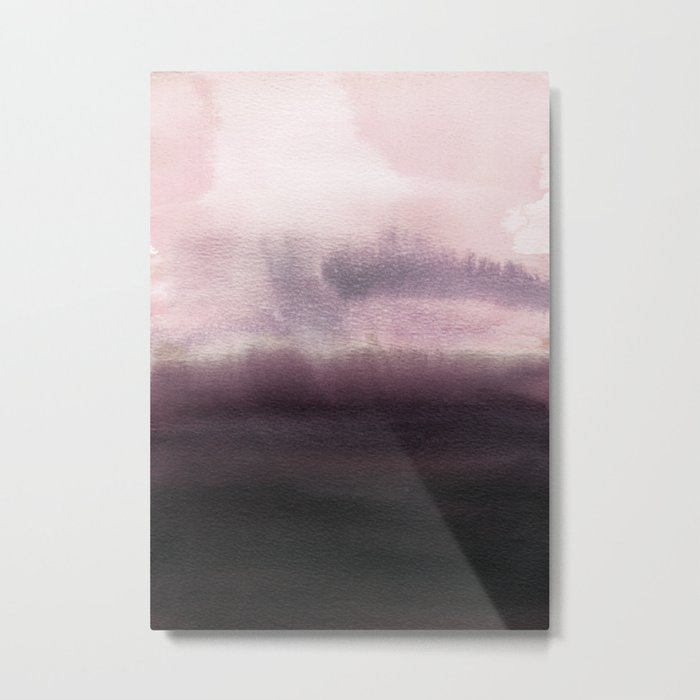 Twilight Landscape Metal Print