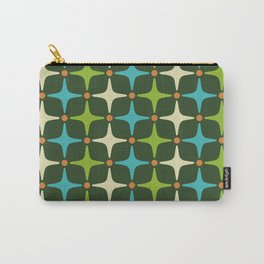 Mid Century Modern Star Pattern 581 Carry-All Pouch