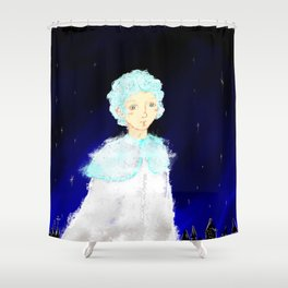 Last snow Shower Curtain