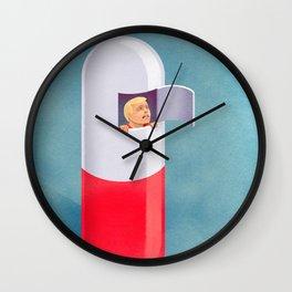 hypochondria Wall Clock