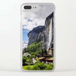 Lauterbrunnen Clear iPhone Case