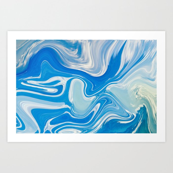 Where Sea Meets Sky Art Print