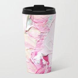 Minty Rose (Abstract Painting) Travel Mug