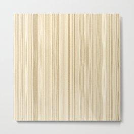 Maple Wood Surface Texture Metal Print