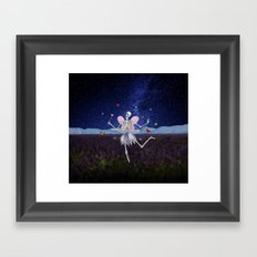The Death Fairy Framed Art Print