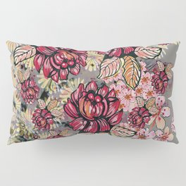 Roses and cherry blossom pattern Pillow Sham