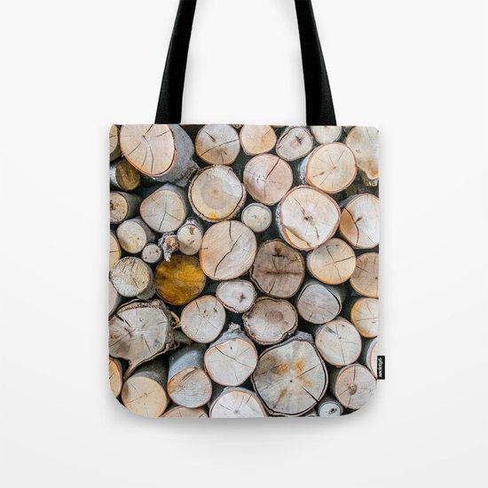 Logged Tote Bag
