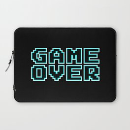 GAME OVER (blue) Laptop Sleeve