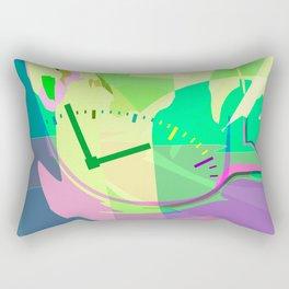 Time for Me Rectangular Pillow