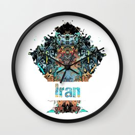 Iran Awesome Country gift Wall Clock