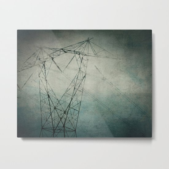 The Power of Line Metal Print