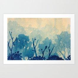 Memory Landscape 10 Art Print