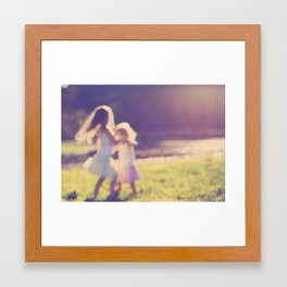 Childhood Dream Framed Art Print
