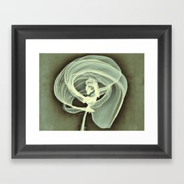 A Smooth Awakening Framed Art Print