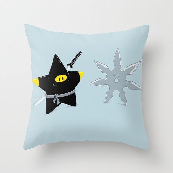 STARtling similarities Throw Pillow