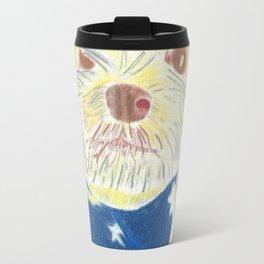 Star Spangled Doggy Travel Mug