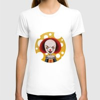 pennywise T-shirts featuring Pennywise Cheese by ajd.abelita