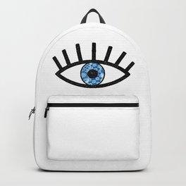 Greek Evil Eye Backpack