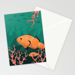 Save the Reef Stationery Cards