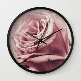 Dusky Roses, 1 Wall Clock