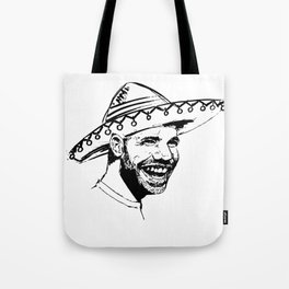 Drake in Sombrero Tote Bag