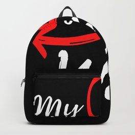 My New Wife - Just Married Backpack