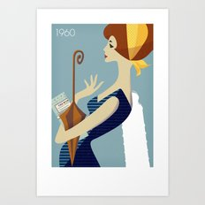 Italy 1960 Art Print