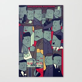 Inglourious Basterds Canvas Print