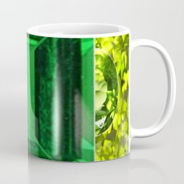 EMERALDS &  LIME GREEN PERIDOT GEMS BIRTHSTONES Coffee Mug