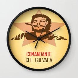 El Comandante Che Guevara Wall Clock