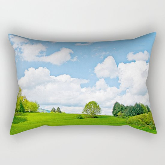 Wonderful spring Rectangular Pillow