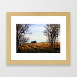Seasoned Shed Framed Art Print