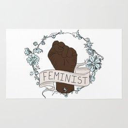 Feminist Fist Rug