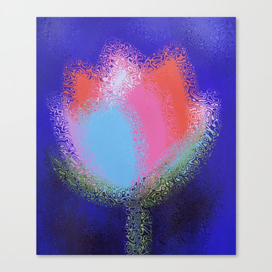 Floral Charm Canvas Print