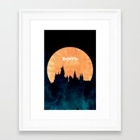 hogwarts Framed Art Prints featuring Hogwarts by IA Apparel