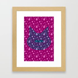 Omni Cat I Framed Art Print