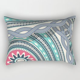 Abstract tribal background Rectangular Pillow