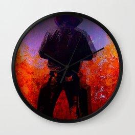 Cowboy 2 Wall Clock