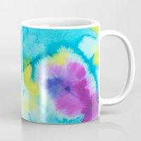 tie dye Mugs featuring Tie-Dye by Tatiana Shaffer
