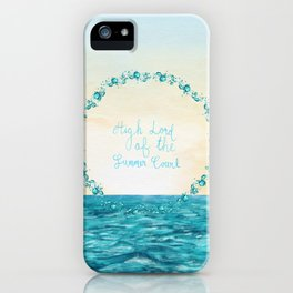 High Lord of the Summer Court iPhone Case