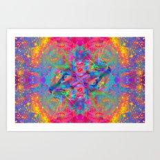 Flower Trip-Sir Parker Art Print
