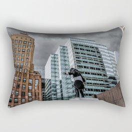 The Watcher Brings a Storm Down on Chicago Rectangular Pillow