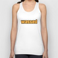 wasted rita Tank Tops featuring Wasted by D-fens