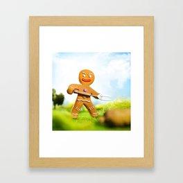 Gingy Framed Art Print