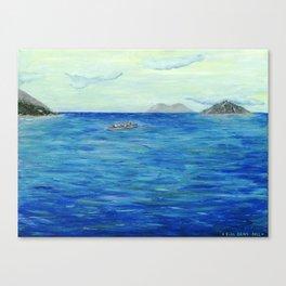 Old Hawaii 3 of 3 Canvas Print